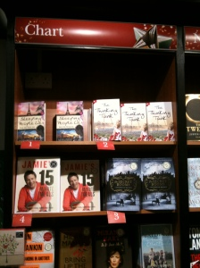 Sleeping People Lie & The Thinking Tank steal the top spots at Waterstones!